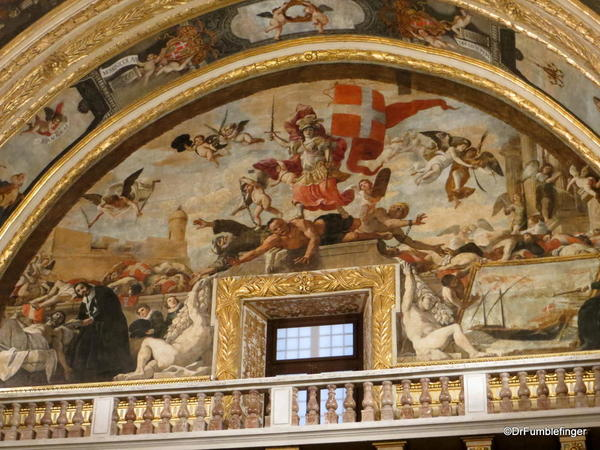 31 St John's Co-Cathedral, Valleta. Chapel of Germany