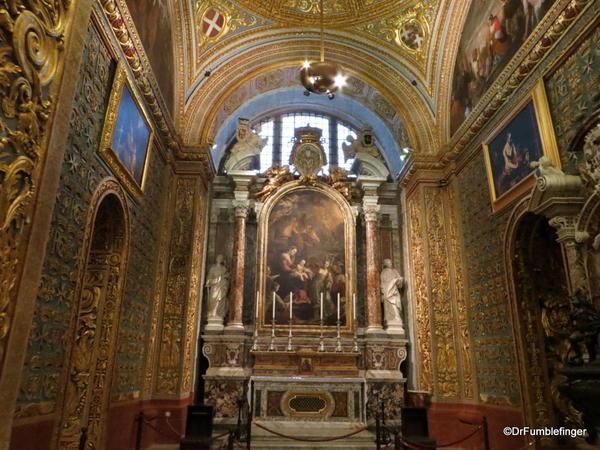 38 St John's Co-Cathedral, Valleta. Chapel of Italy