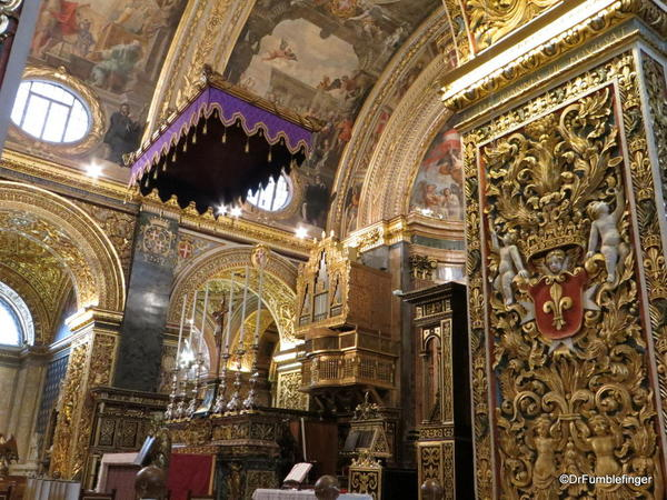 63a St John's Co-Cathedral, Valleta