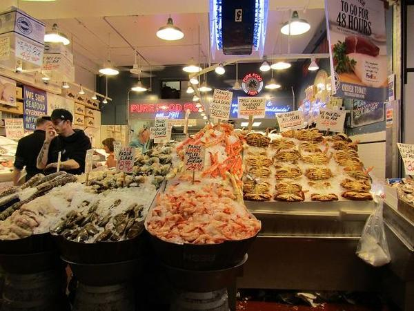 Pike Place Market - Fish