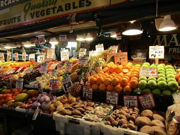 Pike Place Market - Fruit