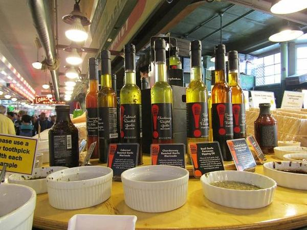 Pike Place Market - Oil
