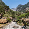 The Samariá Gorge, Crete
