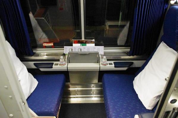 Amtrak-Roomette