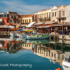 Old Venetian Port at Rethymnon, Crete, Greece