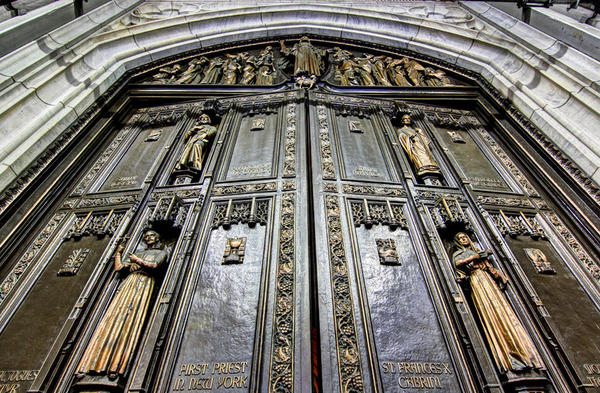 St-Patricks-cathedral-doors