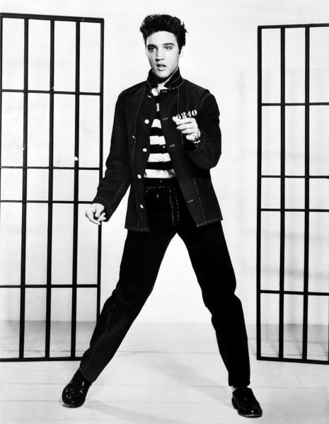 Elvis, Jailhouse Rock promotional photo