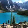 Moraine Lake views -- Banff National Park