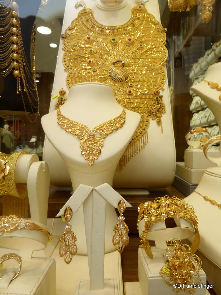 All that Glitters is Gold! Window shopping in Dubai's Gold