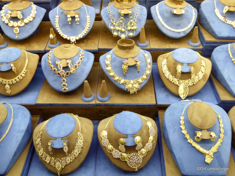 All that Glitters is Gold Window shopping in Dubai s Gold Souk