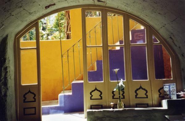 Rhodes City Colorful Building