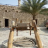 Dubai Museum, interior courtyard, old well