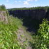 Ouimet Canyon: As seen from Lookout 2.