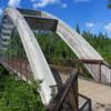 Bridge on Ouimet Canyon Trail.