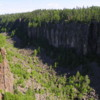 Ouimet Canyon: As seen from Lookout 1.