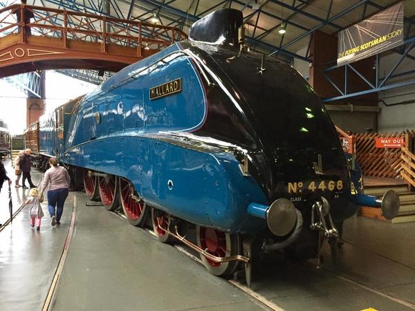 The Mallard, National Railway Museum, York, England.