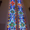 Stained glass, St. Mary's in the Mountains