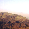 Settlements along a ridge, North Yemen