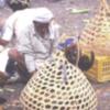 Chicken in a basket, Yemeni market