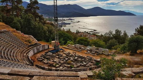 Thassos Guide - Limenas, Ancient Theatre & Acropolis