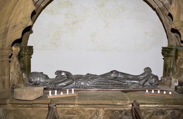 Bogwood oak effigy.