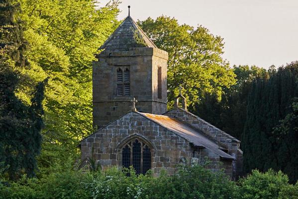 Old Church in setting.