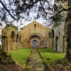 Old Church Nave and Norman arches.