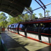 Disneyland Monorail, Downtown District Boarding Station.: The monorail train can accomodate approximately 132 passengers.