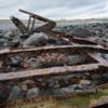 Wreck of trawler, Nova Scotia