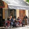 Cafe in Santa Cruz, Sevill