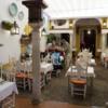 Small cafe in Santa Cruz, Seville