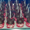 Mickey Mouse Caramel Apples.: Marceline's Confectionery, Downtown Disney, California