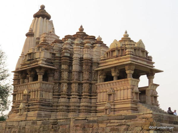 12 Khajuraho temples and town (150)