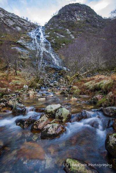 Steall Waterfall Glen Nevis 4