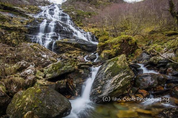 Steall Waterfall, Glen Nevis 8