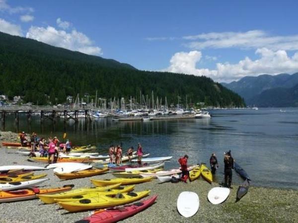 Deep Cove British Columbia (Photo by Hello! Magazine)