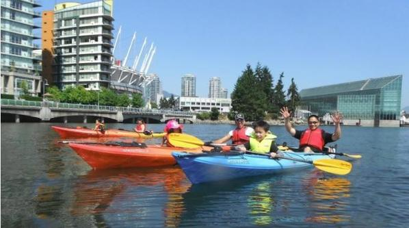False creek, Vancouver British Columbia (Photo by Adventures of Ed Rocker)