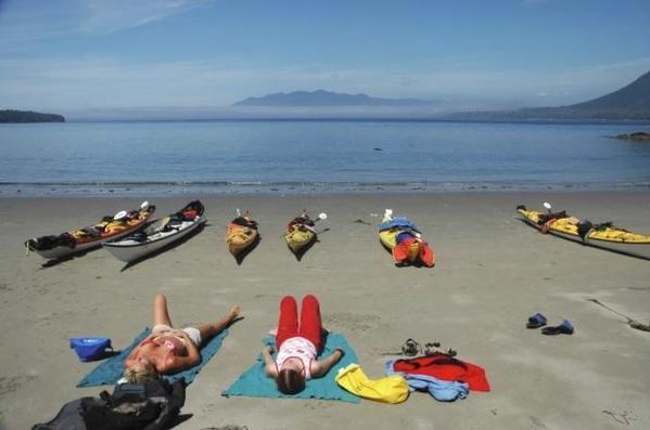 Vargas Island Tofino (Photo by Kayak B.C.)