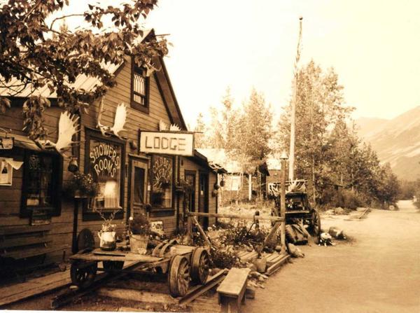 Bar and lodge at McCarthy