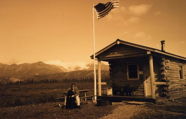 Dan at remote US outpost