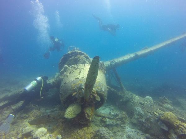 Micronesia wreck