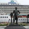 Cunard statue, Halifax's Seaport Farmer's Market