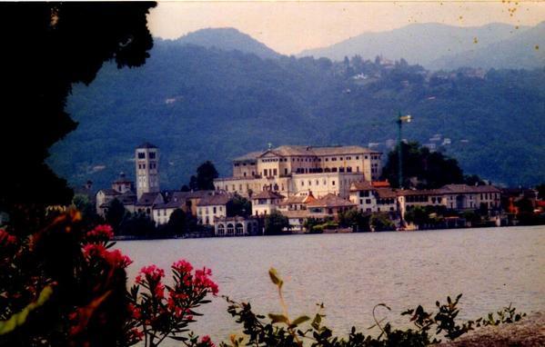 Lake Orta San Giulio Island