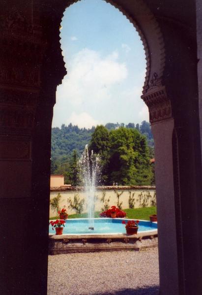 Villa Crespi Fountain