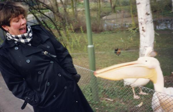 Diane Attacked in Koln Zoo