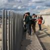 Enjoying the views, Arc de Triomphe