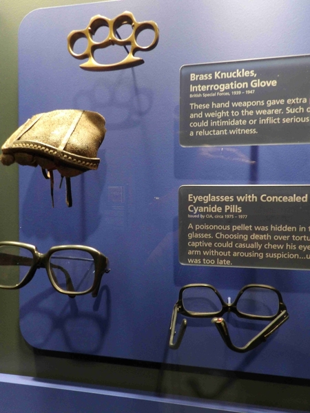Brass Knuckles and Cyanide Glasses