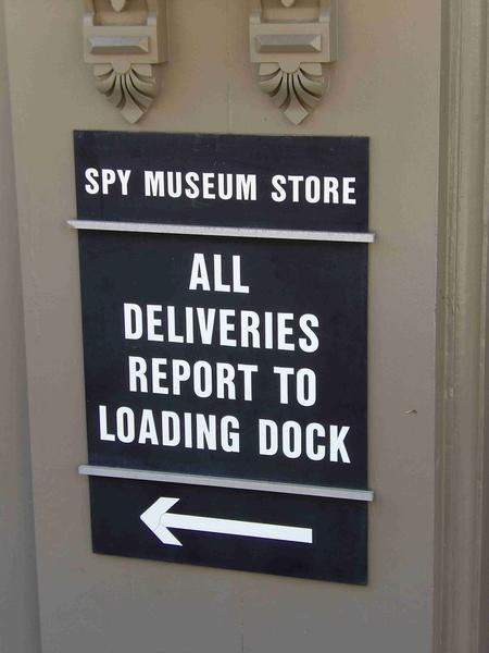 Deliveries Sign