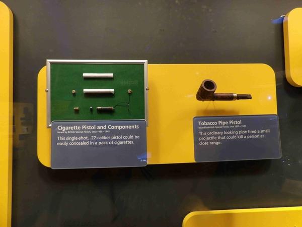 pipe and cigarette pistols