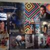 artist collage with riko rennie